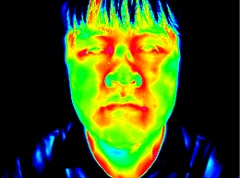 Nasencornet Thermomessung